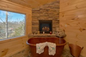 Copper Creek Lodge is a three bedroom cabin in Elk Springs Resort. It offers an indoor pool, theater room, mountain view, and luxury features