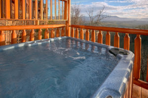 Incredible Views is a luxury two bedroom cabin with spectacular mountain views, theater room and arcade in Pigeon Forge