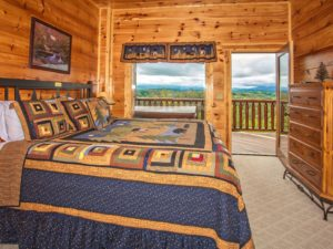 """It's All Good"" is a luxury three bedroom cabin with incredible mountain views, custom walk-in showers, exquisite furnishings, and extreme luxury throughout. Just a few minutes from Pigeon Forge"